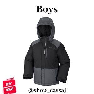 Boys Columbia Lightning Lift Jacket